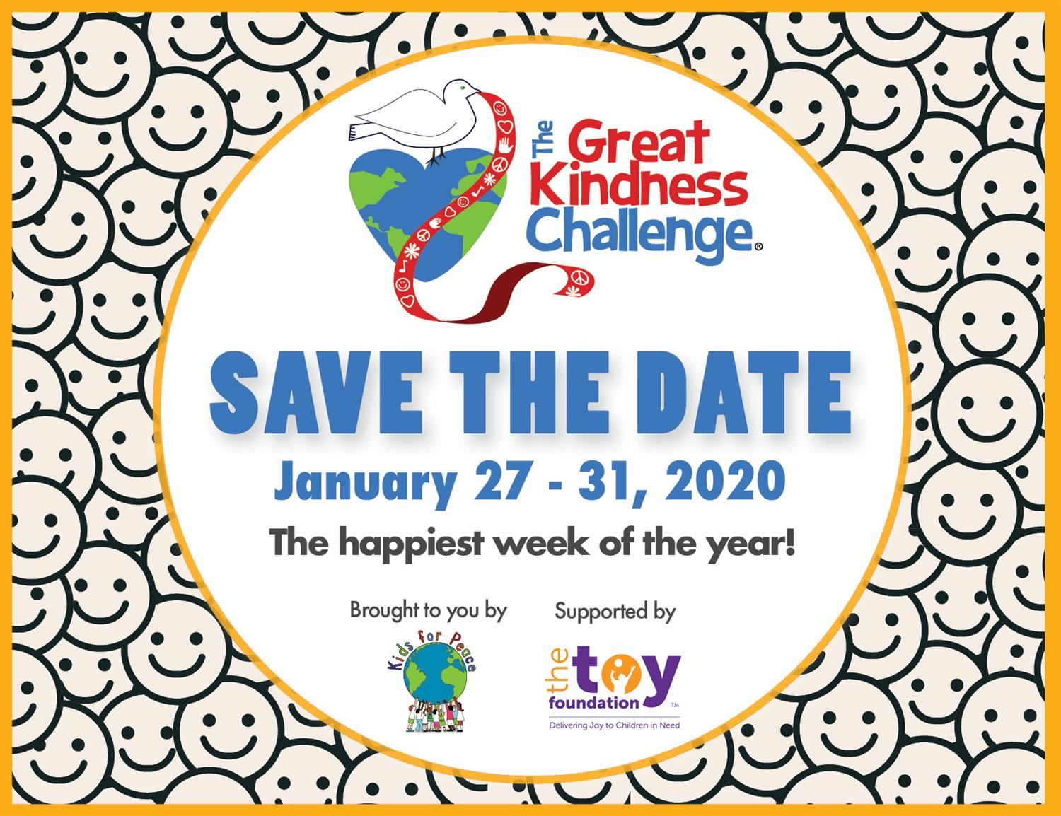 The great Kindness Challenge .....Coming to Dater