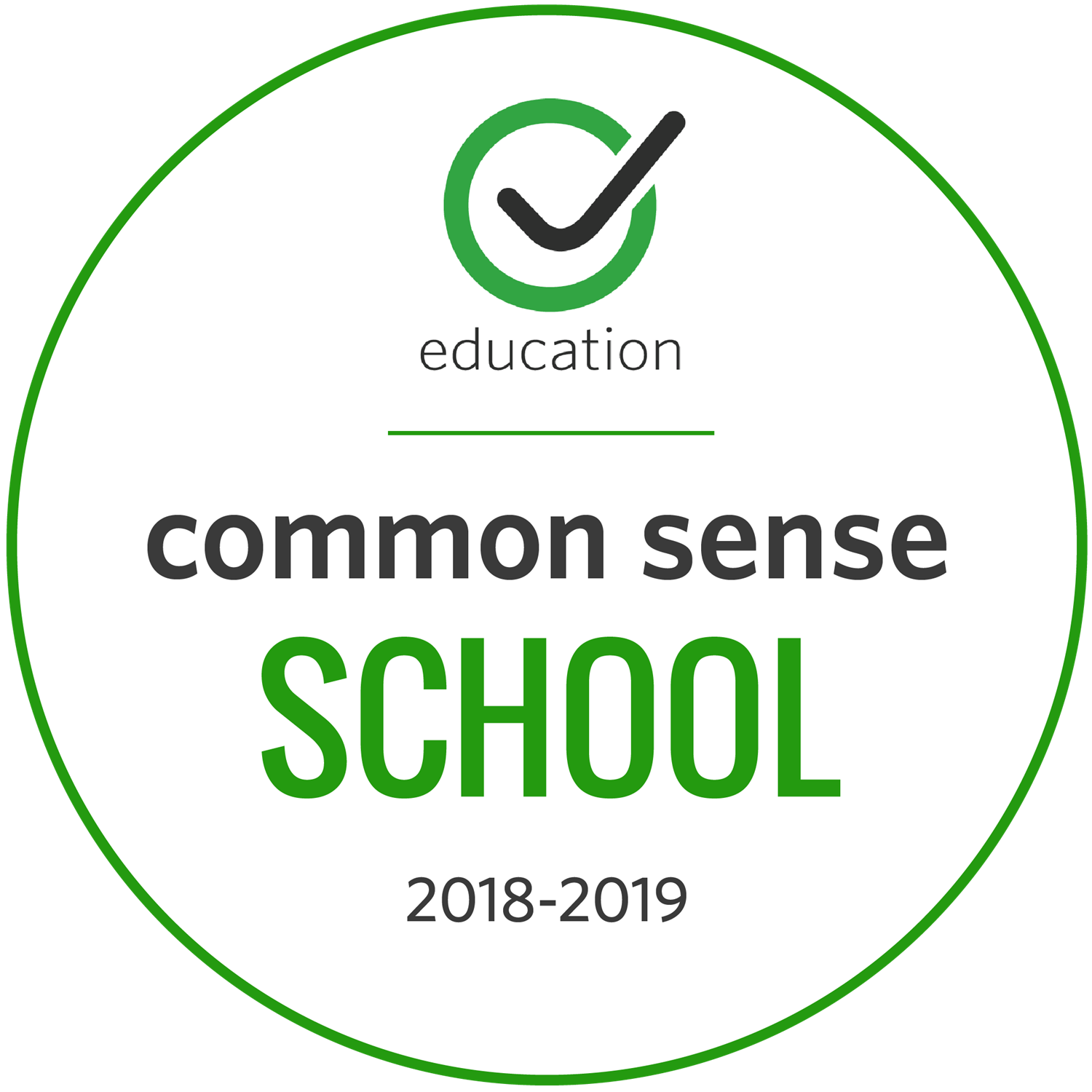 Common Sense School 2018-19