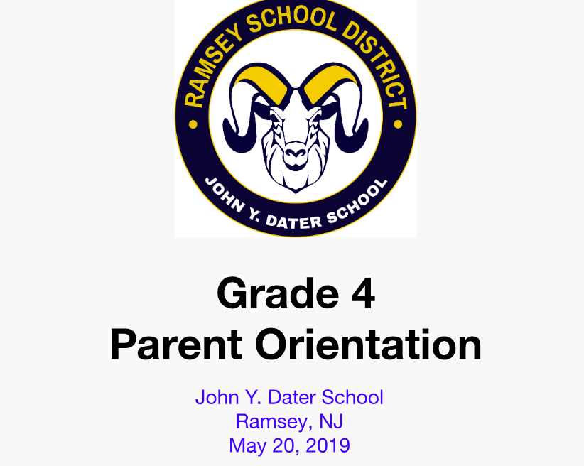 Incoming Parent Orientation 2019
