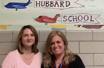 NJ Governor's  Educator of the Year and Educational Support Services Professional of the Year at Hubbard School