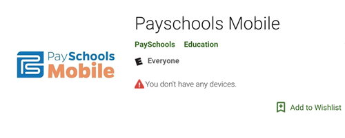Payschools Mobile