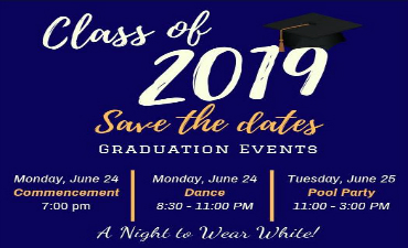 Class of 2019 Save the Dates