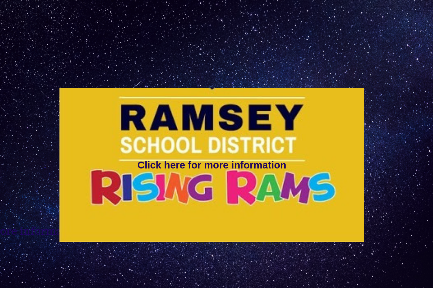 Ramsey School District District Homepage